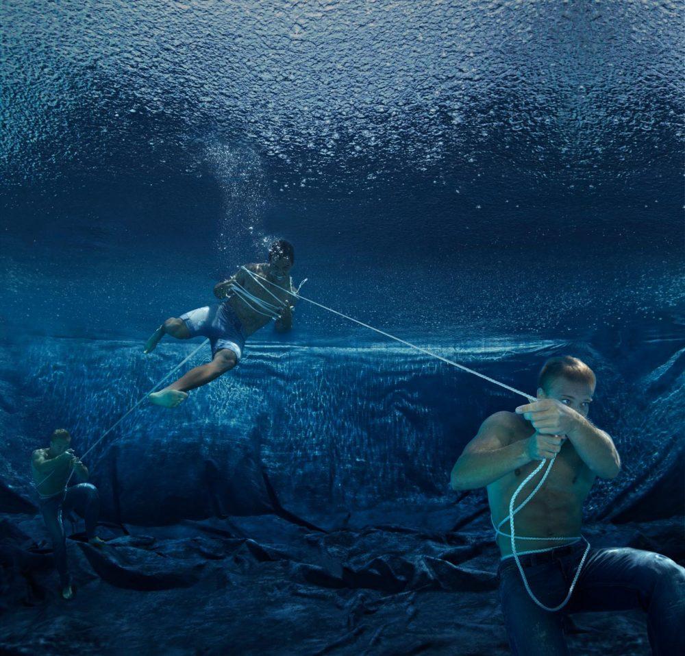 «Bermuda» | 105x100cm | © Gaby Fey
