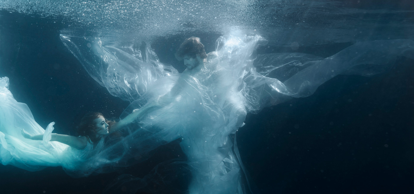 «Eurydice & Orpheus»   160cm x 75cm   © Gaby Fey