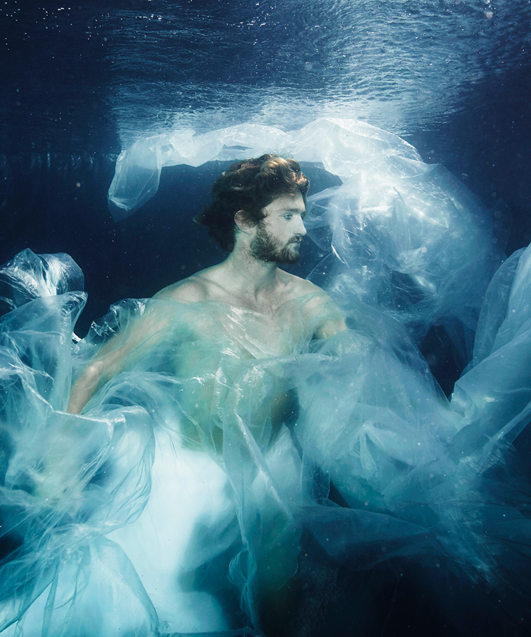 «Orpheus I»   100cm x 120cm   © Gaby Fey