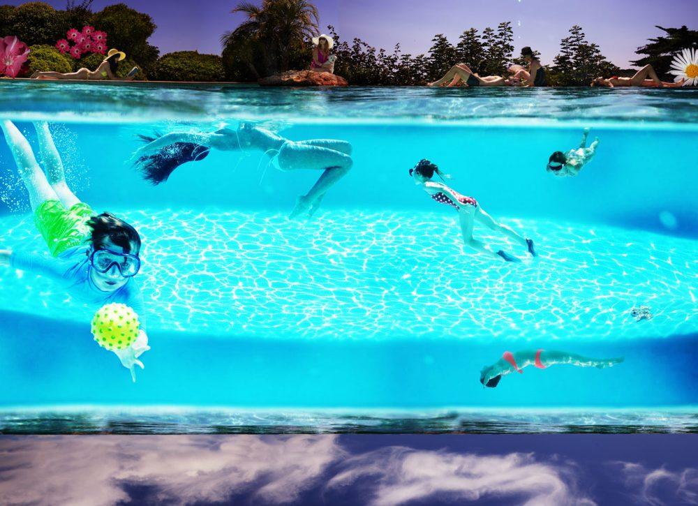 «Pool» | 200cm x 145cm | © Gaby Fey