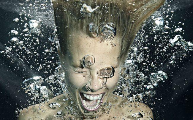 «Screaming Silence I»   80cm x 100cm   © Gaby Fey