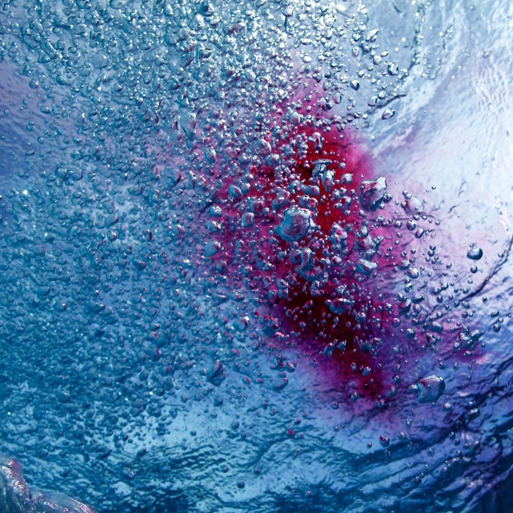 «Watercolors II» | 100cm x 100cm | © Gaby Fey
