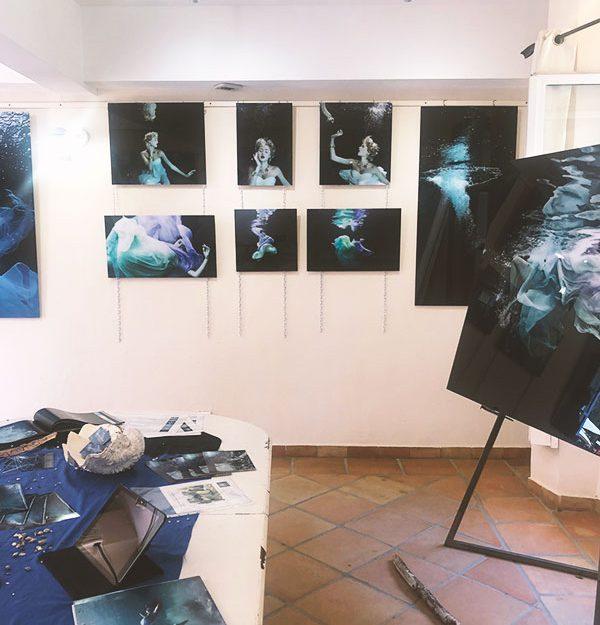 Exposition « Photos aquatiques » Gaby Fey, Porquerolles